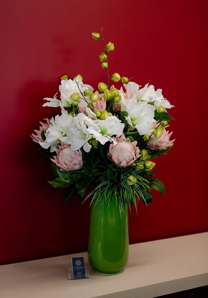 Faux Flower - artificial flower arrangements